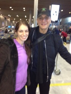 Yes, Tony Danza. Yes, Mom can't focus camera.